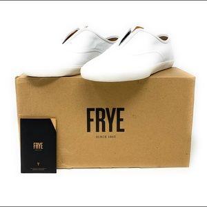 FRYE Maya CVO Slip On Sneaker White WOMENS 10M